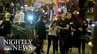 Paris Terror Attacks:  As Many as 100 Dead as Violence Erupts Around City | NBC Nightly News