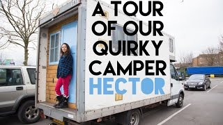 Our English QUIRKY Campervan Tour of Hector