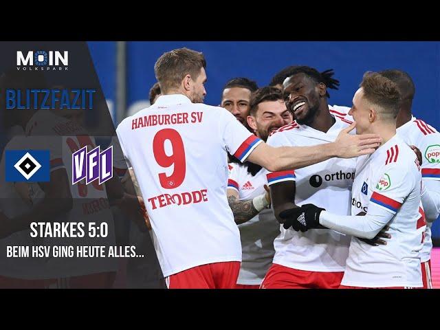 Scholles Blitzfazit zum Spiel | HSV 5:0 Osnabrück / Saison 20/21 | #003