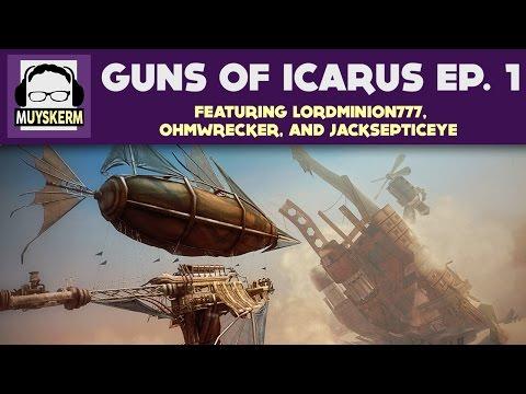 Guns of Icarus Ep. 1 | Clan YTUB Takes on the Devs!