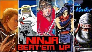 Ninja Beat 'Em Ups: Top 7  Ninja Arcade Games Ever