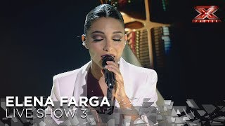 Elena Farga canta 'Mujer contra mujer' y Risto llora | Live 3 | Factor X 2018