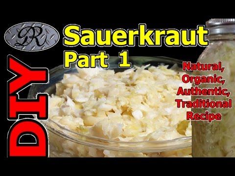 how to make organic sauerkraut