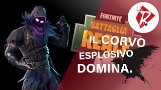 Fortnite: THE EXPLOSIVE DOMAIN CORVO! (New Skin)