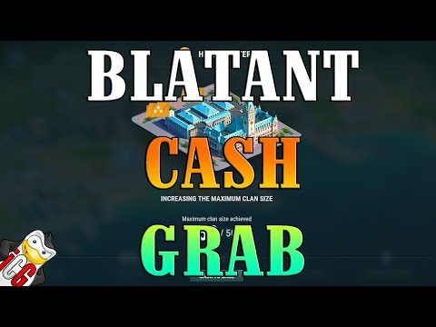 World of Warships - Blatant Cash Grab - Small Clan Sizes