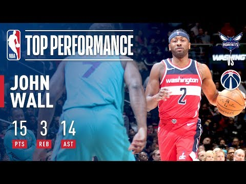 John Wall Was Percolating In His Return! 15 Pts & 14 Asts!