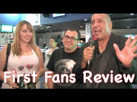 First Fans - Guardians Of The Galaxy Movie Review