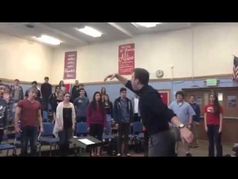 South Salem High School Symphonic Choir in Rehearsal