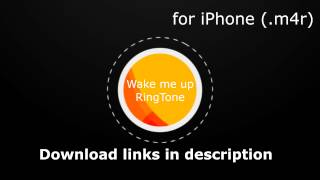 Download TEST #1 Wake Me Up Ringtone Download link for iPhone [Dzwonek] MP3 song and Music Video
