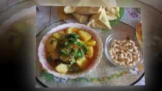 Картошка, тушеная с баклажанами. сайт http://www.bvgyoga.com