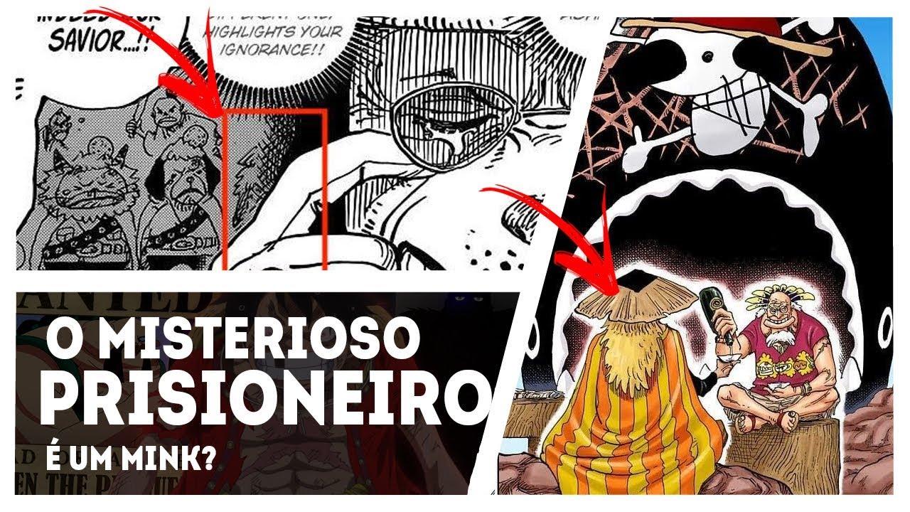 ONE PIECE 935 - BOMBA! REVELADO O PRISIONEIRO DA CELA E ELE PODE SER UM MINK - YouTube