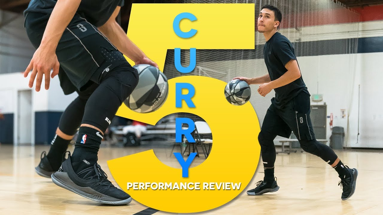 e5b21bc26ed7 Under Armour Curry 5 - Performance Review - YouTube