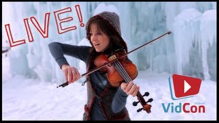 Lindsey Stirling Crystallize LIVE Performance - VidCon Adventures