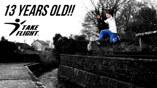 Parkour & Freerunning Phenom - 13 Year Old Anthony Holmes!!!