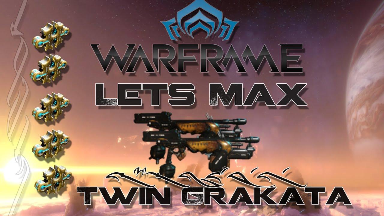 Warframe Twin Grakata Build