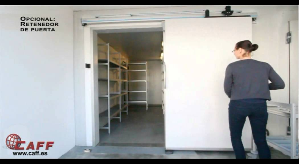Cierre autom tico para puerta corredera con temporizador - Sistema puerta corredera ...
