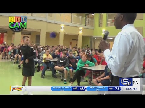 Spanish Fort Middle School on Kidcam with Alan Sealls