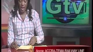 gtv news voter registration accra tema railway line ghana may 2010