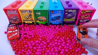 Learn Colors with Pj Masks Toys and Kinetic Sand, Disney Cars toys Educational videos