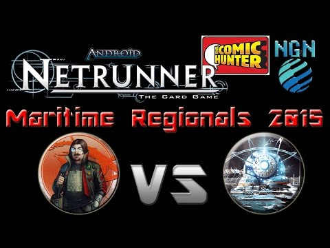 Netrunner Maritime Regionals Game 10 Whizzard vs Blue Sun