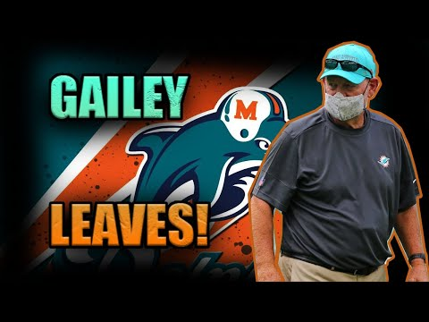 Chan Gailey Resigns (Quits) As Miami Dolphins Offensive Coordinator! | Miami Dolphins Fan | 1KFLeXin
