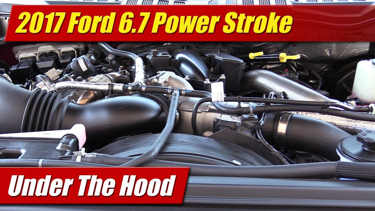 hight resolution of under the hood 2017 ford 6 7 power stroke diesel