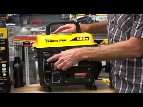 Product Review Trades Pro 850W Portable Generator