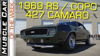 1969 Chevrolet RS Double COPO Camaro 427 Berger Muscle Car Of The Week Episode 280 V8TV Video