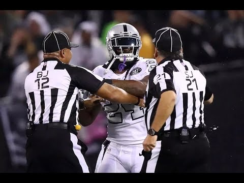 NFL Players Getting Ejected For Contacting Officials