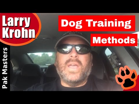 Dog Training methods / more than one right way