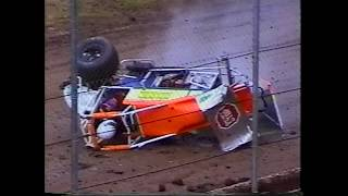 Cottage Grove Speedway - Flips and Crashes from the 2008 season t