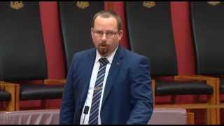 Senator Ricky Muir | Toxic Nature of Party Politics Statement | 9-Sep-2015