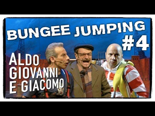 Anplagghed - Bungee Jumping (4 di 5) | Aldo Giovanni e Giacomo