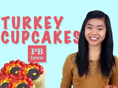 How To Make Turkey Cupcakes | Kawaii Sweet World for PBteen