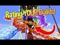 Minecraft: Rating YOUR Builds! #2