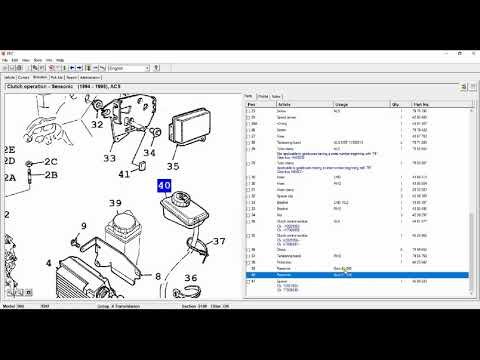 Review of SAAB Electronic Parts Catalogue