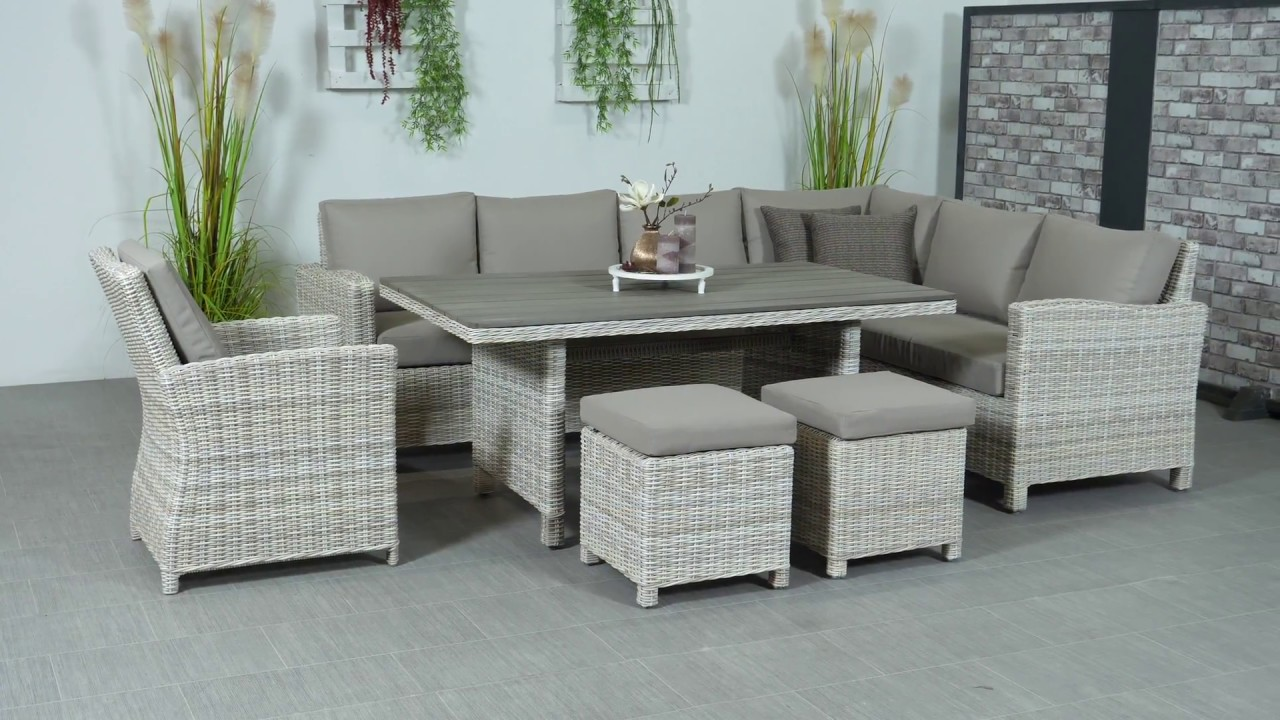 Garden impressions lounge dining set vancouver passion willow