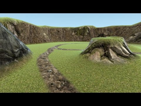 Blender Level Editor Addon: Terrain Creation