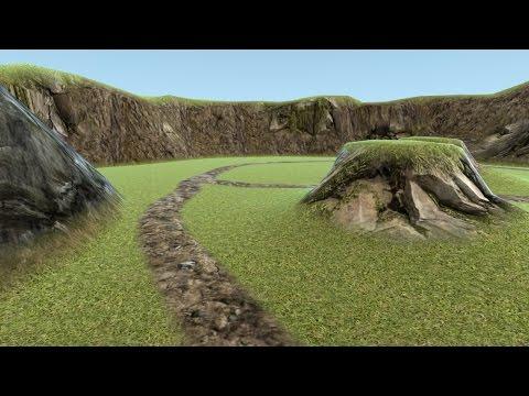 Blender Level Editor Addon: Terrain Creation