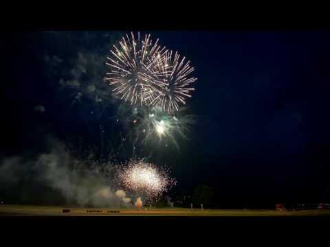 Feuerwerk Tempelhofer Feld / Independence day 2017
