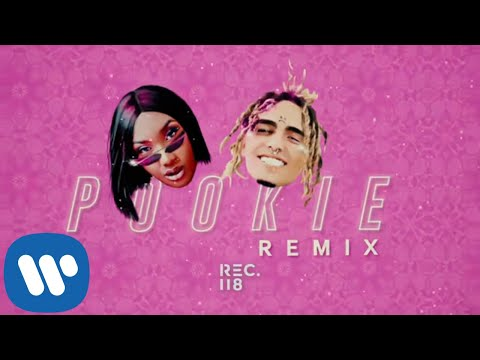 Aya Nakamura Feat. Lil Pump - Pookie Remix (Official Lyric Video)