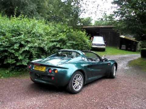 Ma Lotus Elise Racing Green