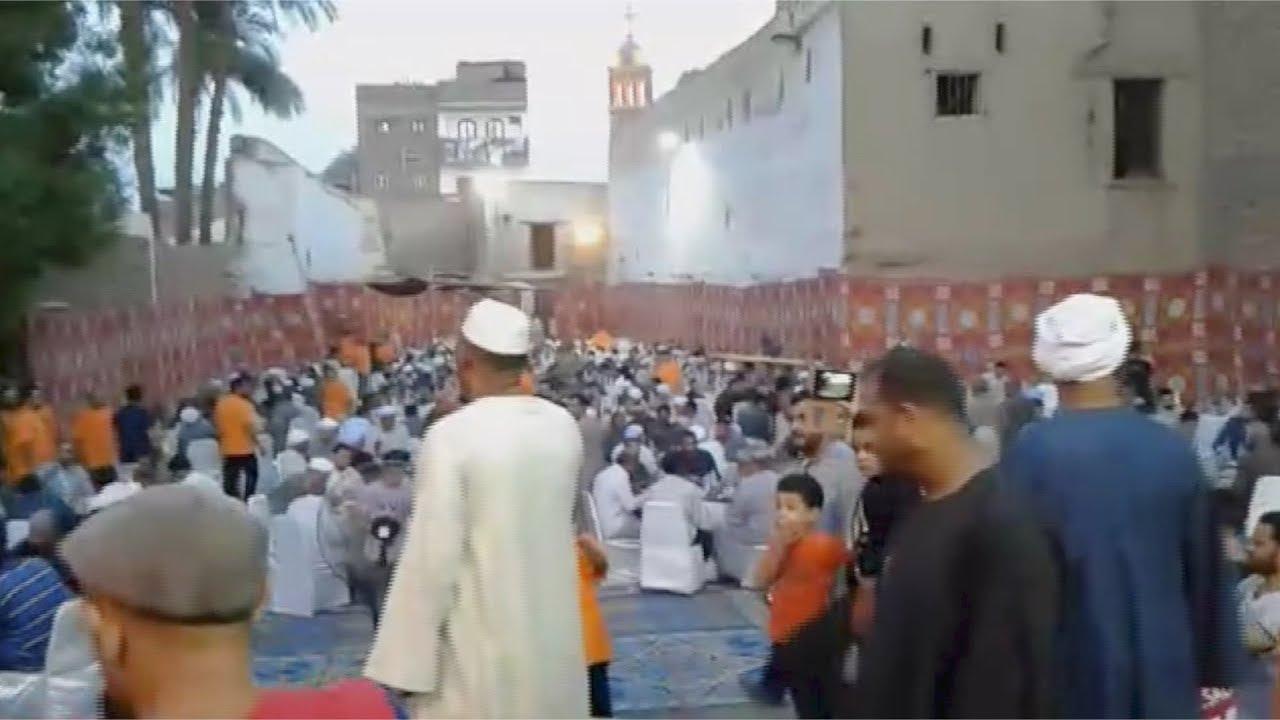 الوطن المصرية:رفع الأذان وإقامة الصلامة في كنيسة بالأقصر