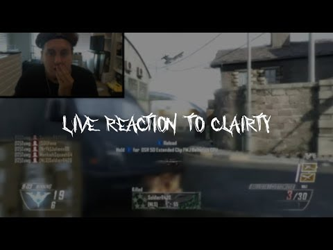 LIVE REACTION TO CLARITY *** TRIPLE HEAD SECTION WTF ***