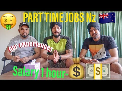 Part Time Jobs With Salary💰💵💰. Student Life In Auckland NewZealand. Vlog-12
