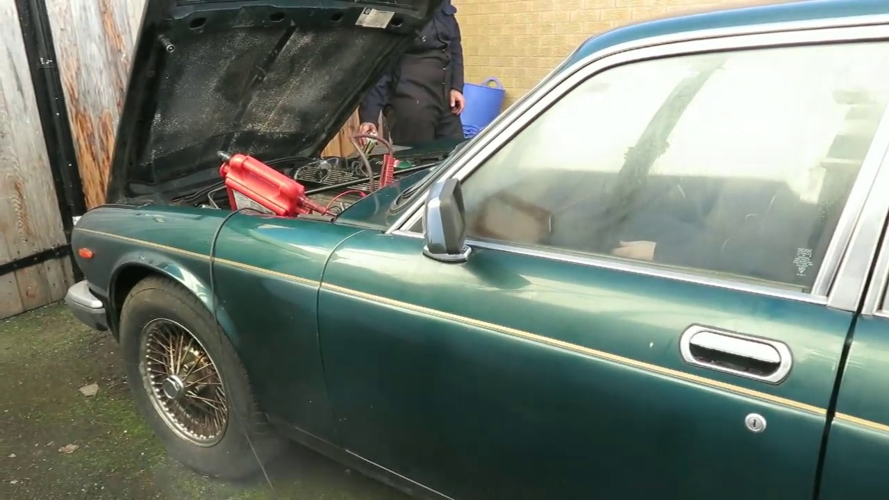 jaguar xj6 series 3 cranking fuel system after a long stand  [ 1280 x 720 Pixel ]