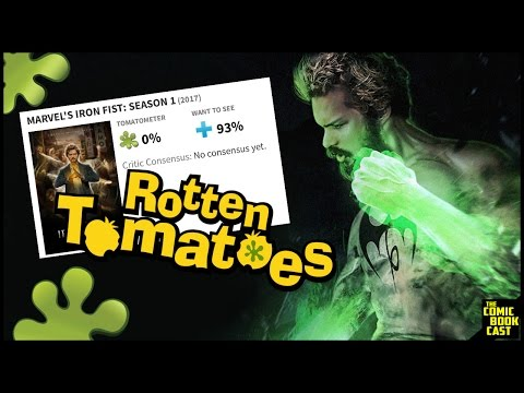 Iron Fist is the lowest Rated ANYTHING EVER