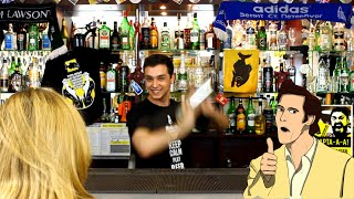 """Лицо бармена во время СЕКСА и """"Мексиканский пляж"""" - коктейль KILLFISH DISCOUNT BAR"""