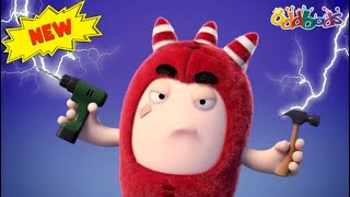 Oddbods | NEW | FDI - FURNITURE DEFECT INSPECTOR | Funny Cartoons For Kids