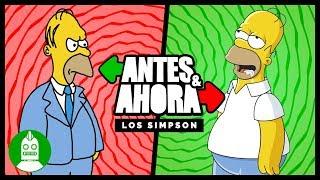 Antes y Ahora de Los Simpson (Atómico #245 ) en Átomo Network